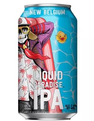 New Belgium Lquid Paradise IPA